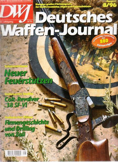 Deutches Waffen - German Weapons Journal (ročník 32, číslo 8)